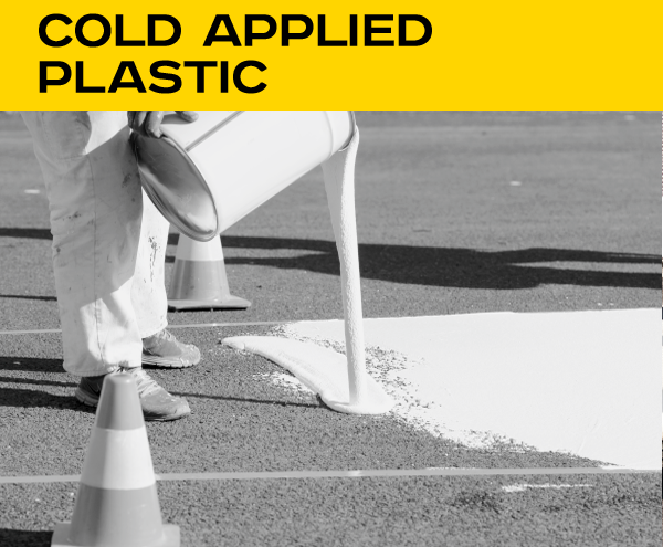 Cold applied plastic
