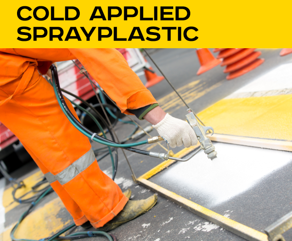 Cold applied Sprayplastic
